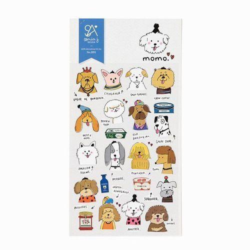 Momo Deco Sticker
