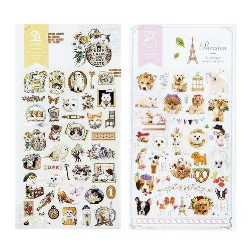 Lovely Cat/Dog Deco Sticker