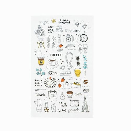 Travel Life Deco Sticker