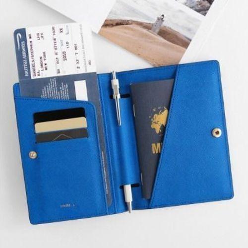 La Route Du Bonheur Passport Case