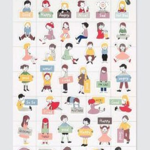 Little Friends Deco Sticker