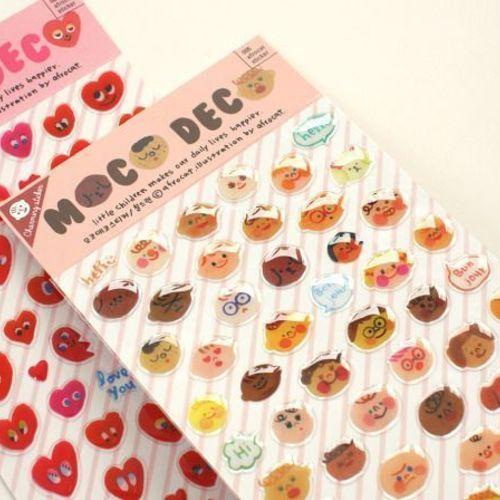Little Faces Deco Sticker