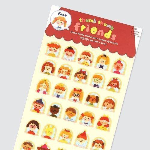 Miniature Friends Deco Sticker