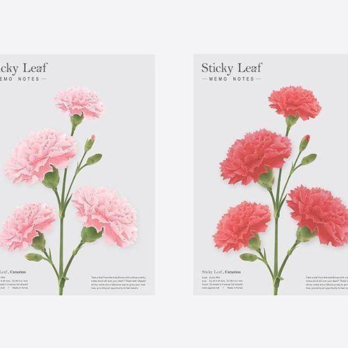 Carnation Sticky Note