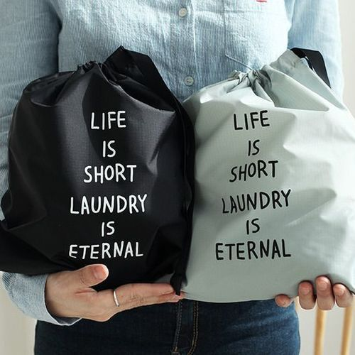 Laundry Drawstring Pouch