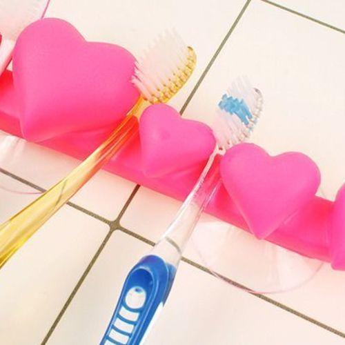 Heart Family Toothbrush Holder
