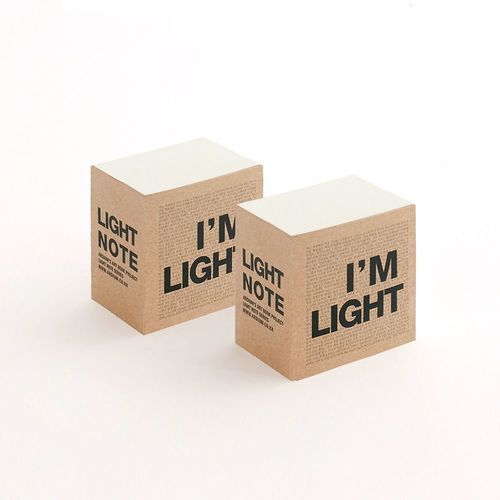 Block I'm Light Notebook