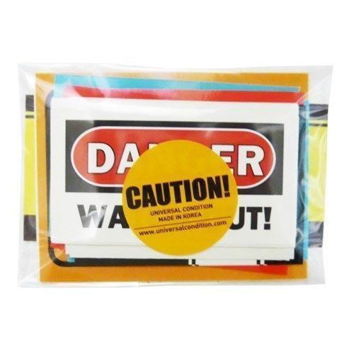 Caution Sticker Set