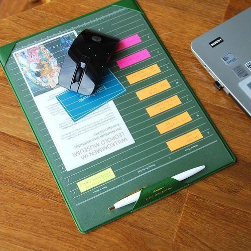 Mini Leather Desk Pad