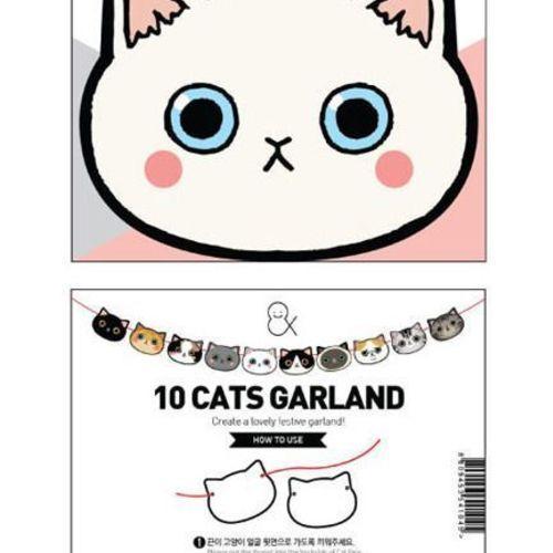 Mini Kitty Garland