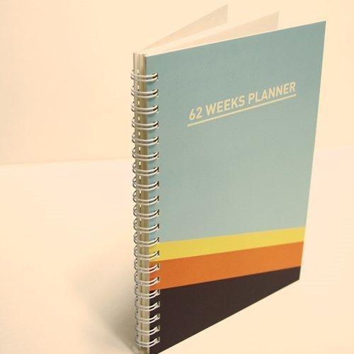 62 Weeks Planner
