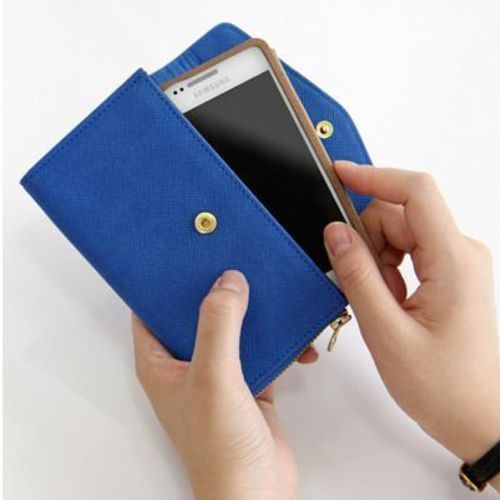 Zip Up Smartphone Wallet