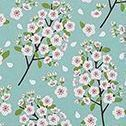 Handy To Do List Notepad, Mint Cherry Blossom