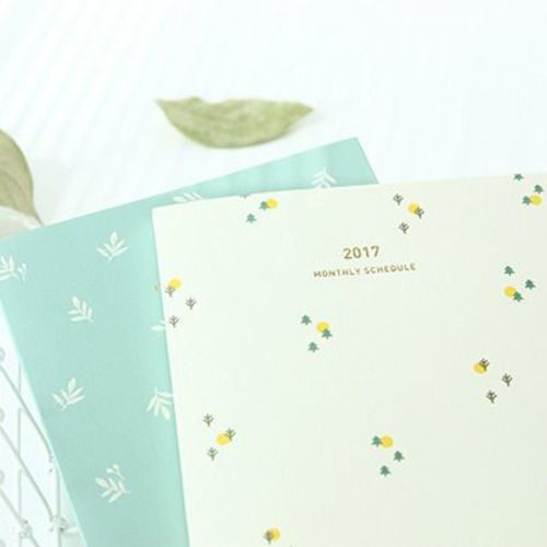 2017 Small Monthly Scheduler