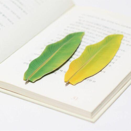 Banana Leaf Bookmark Pen