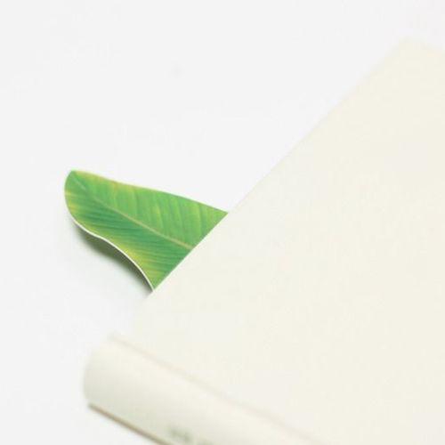 Banana Leaf Bookmark Pen Set