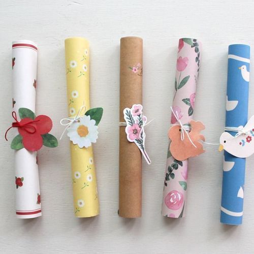 Rolled Up Letter Set
