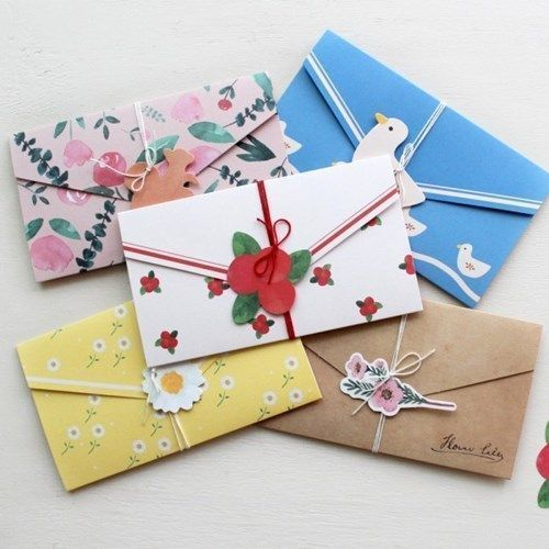 Natural Pattern Envelope Card