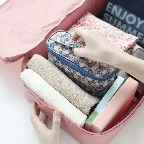 Warm Breeze Cosmetic Pouch