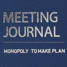 Monopoly Planning Notebook
