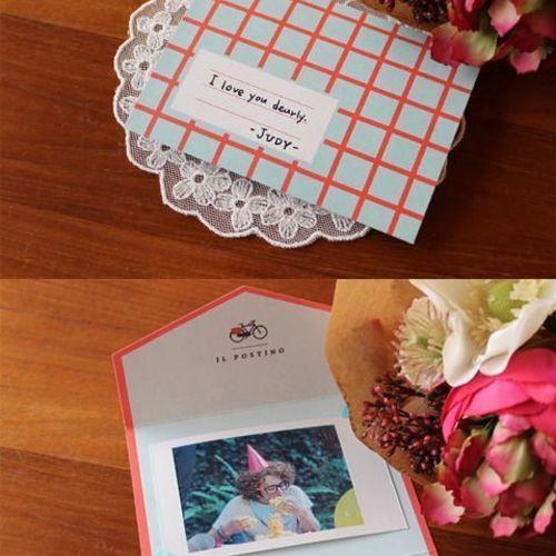 Mini Pattern Envelope Card Set