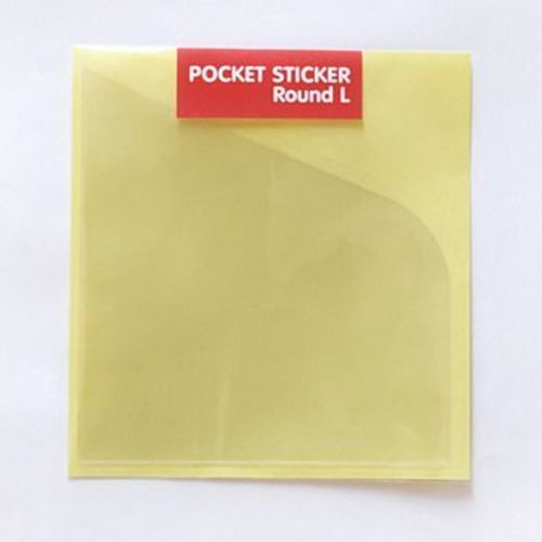 Large Round Pocket Sticker