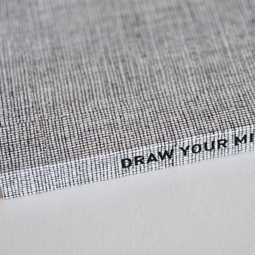 Draw Your Mind Plain Notebook