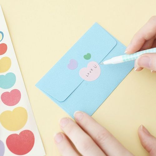Color Palette Deco Sticker Set