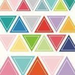 Color Palette Deco Sticker Set, Triangle