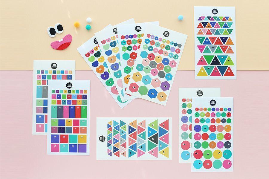 SOM SOM Deco Sticker Set