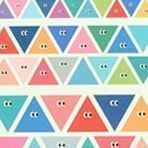 SOM SOM Deco Sticker Set, Triangle