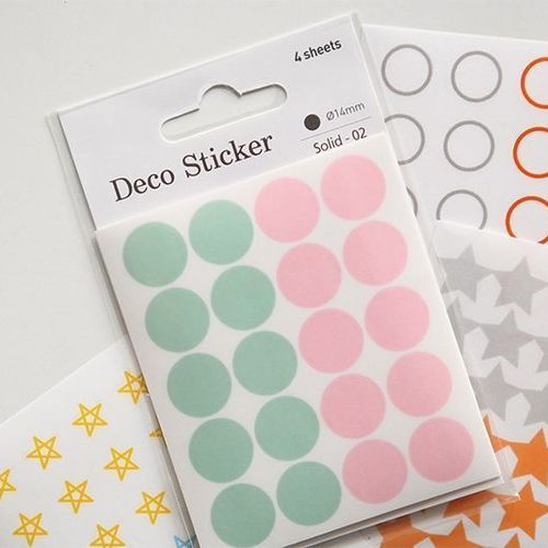 Circle Deco Sticker Set v3