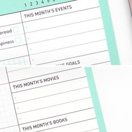 Monthly Manager Notepad