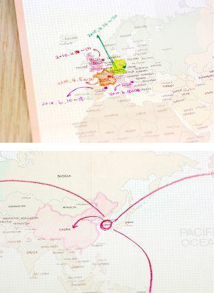 Pocket World Map