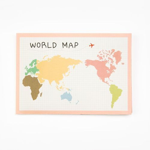Pocket World Map