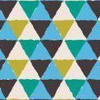 Retro Notebook, Blue Triangle