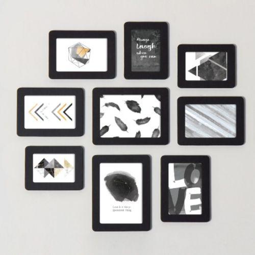 9pcs Sandwich Photo Frame Set