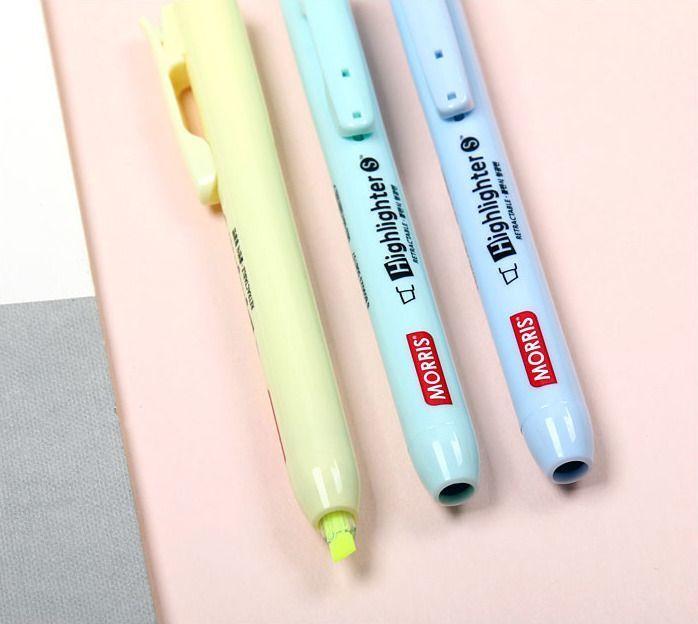 Pastel Retractable Highlighter