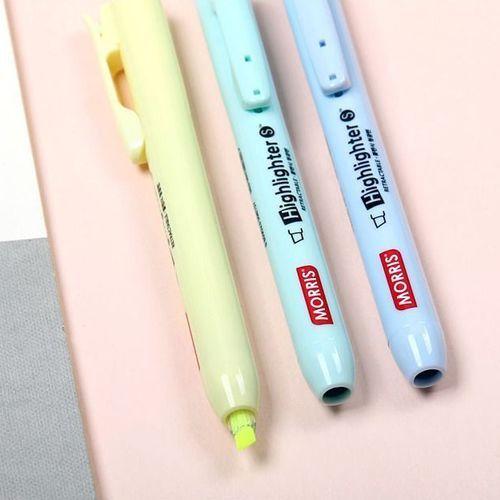 Pastel Retractable Highlighter Set