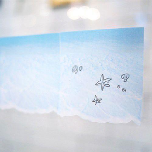Beach Sticky Note