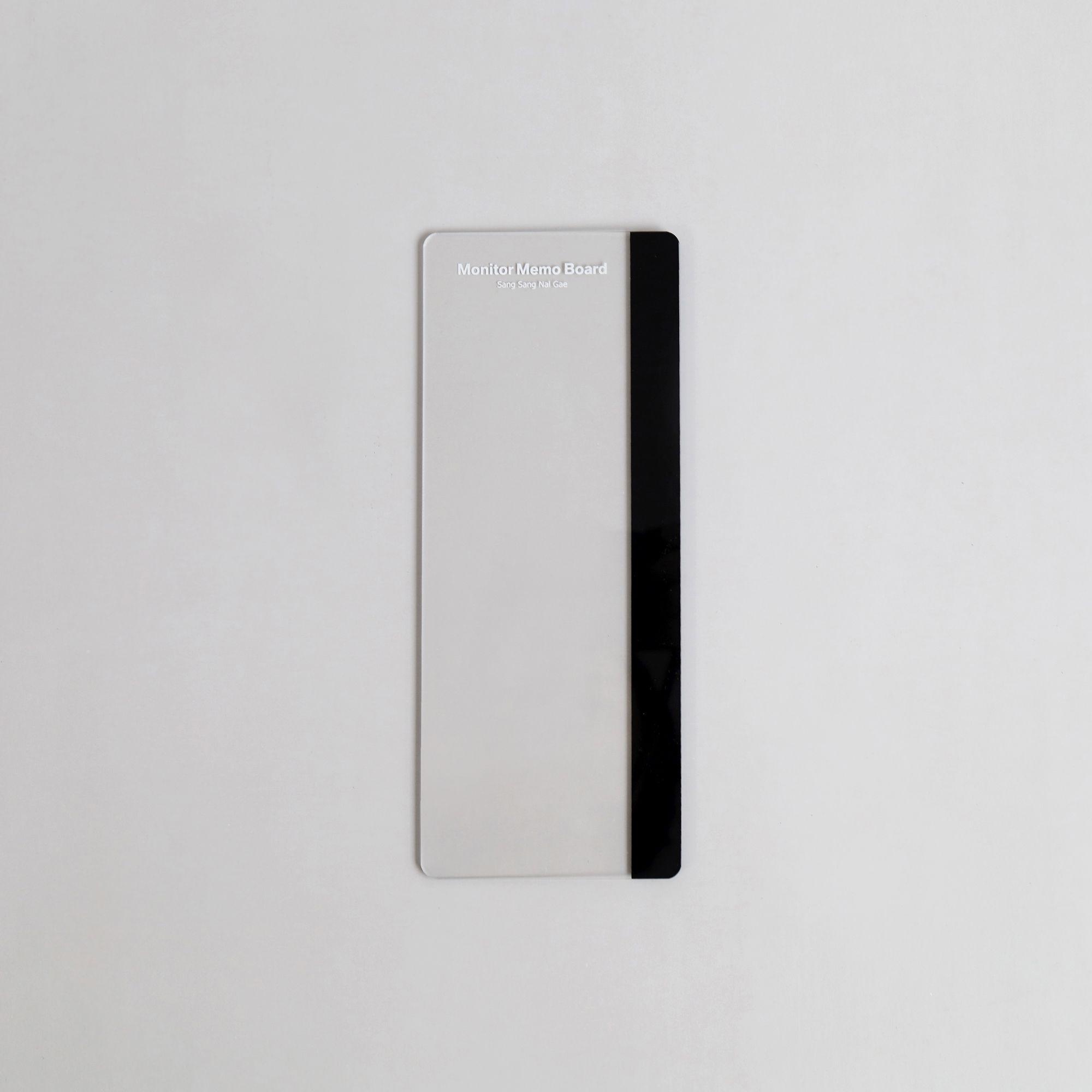 Transparent Monitor Memo Board