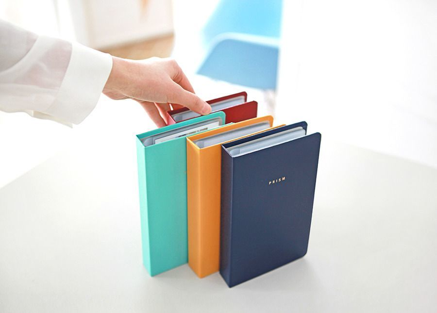 Prism Business Card Book