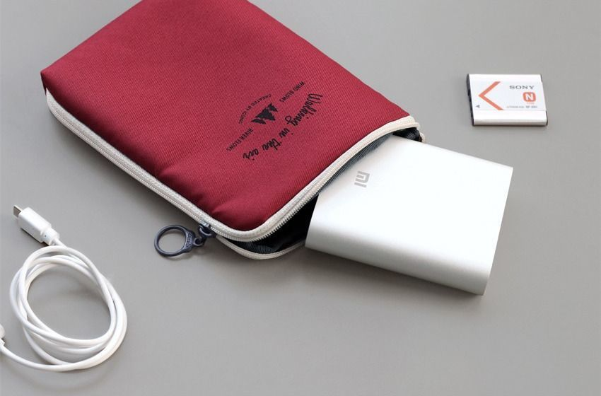 Medium Walking in the Air Cable Pouch