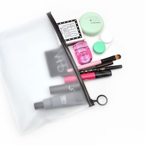 Simple PVC Ring Pouch
