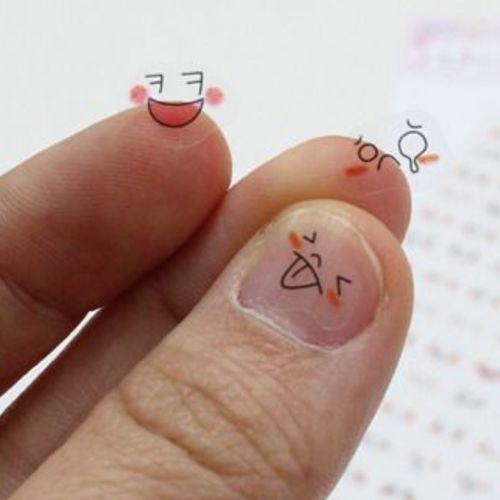 Blush Face Emoji Sticker v1