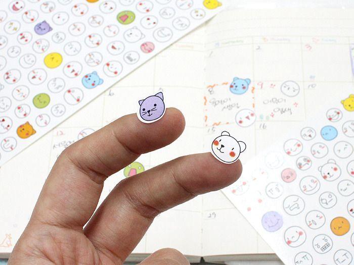 Face Emoji Sticker Set v1