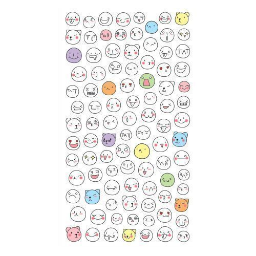 Face Emoji Sticker Set v1