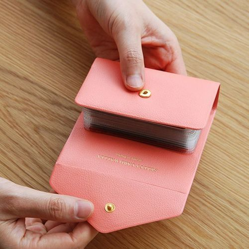 Colorful Button Card Book