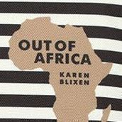Cotton Book Pouch, Out of Africa