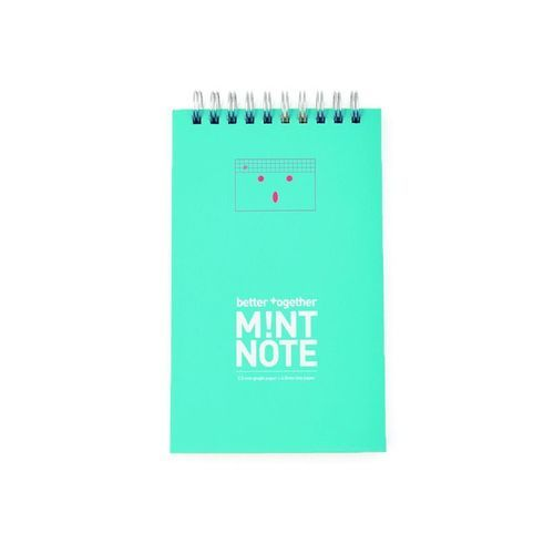 Mint Better Together Lined Notebook